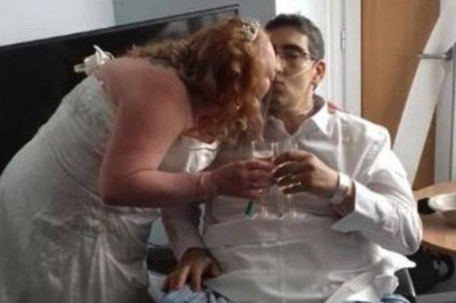 婚礼后办丧礼 女子与未婚夫结婚13小时后对方去世