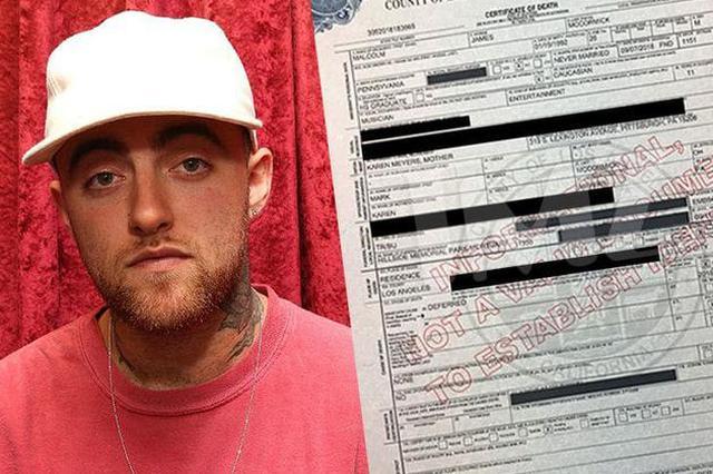 迈克-米勒死亡证书上死因仍待定 遗体已移交家人