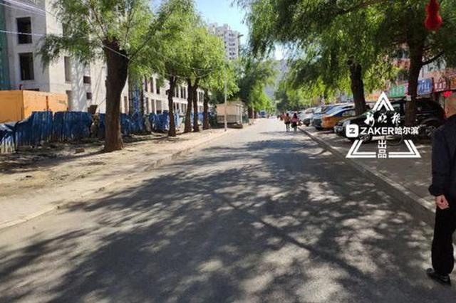 哈尔滨道外一市场被撤销 清理活动板房摊位187个