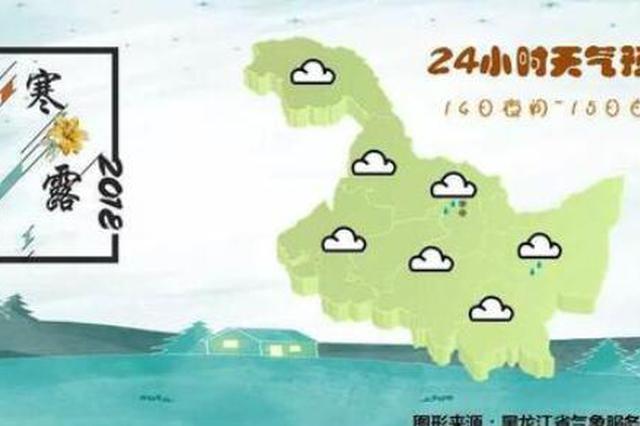 未来三天黑龙江省持续低温 哈市晚间跌至零下