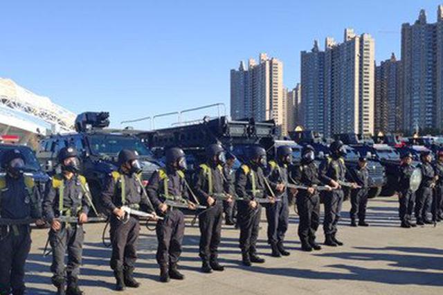 高科技警用装备齐上阵 哈市警方应急处突实战演练超燃