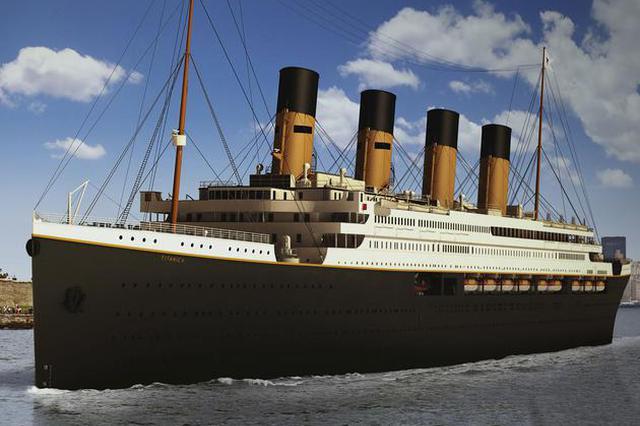 泰坦尼克號復制品泰坦尼克2號將首航 中國制造