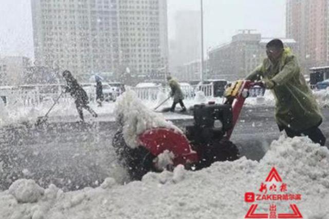道岔加热融冰、无人机巡逻 铁路清雪神器今冬登场