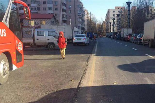出门更顺溜 哈尔滨道里安顺街等机动车道拓宽了