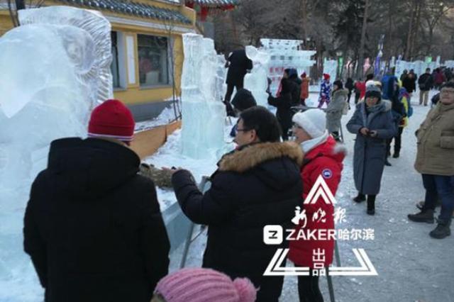 一等奖奖金500元 快来报名哈尔滨兆麟公园市民冰雕赛