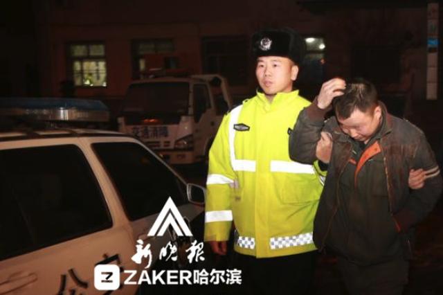 哈尔滨交警全市夜查 一晚抓了11人酒驾醉驾