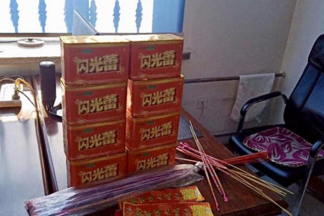 """哈尔滨一仓买货架摆8箱""""闪光蕾"""" 店主被拘5天"""