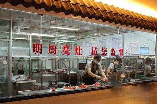 哈市将推行餐饮机构明厨亮灶 消费者可手机查看饭店后厨