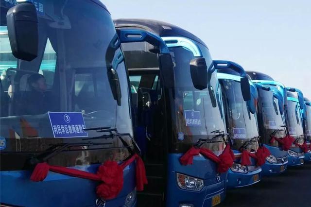 哈尔滨新区教师通勤车上线运行 已覆盖36所中小学校