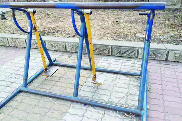 哈尔滨市多位市民反映:出门锻炼健身器材坏了不