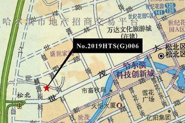 哈尔滨新区这块地卖了20亿 快看看在哪儿