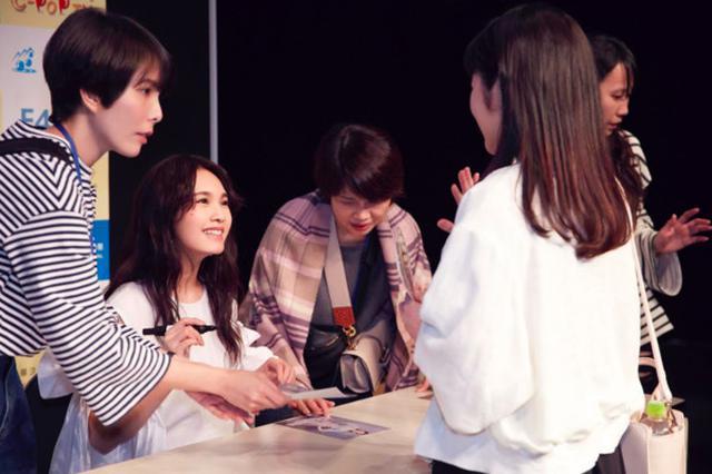 杨丞琳见面会惊男粉数多 日本粉丝中文问候获感动