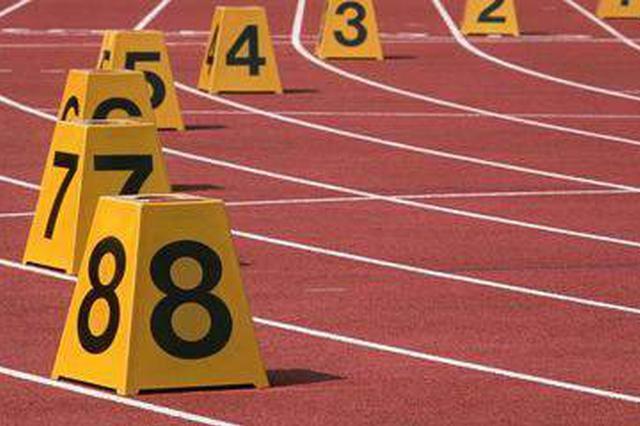 亚洲田径锦标赛4×100米 龙江女将孔令微与队友夺冠