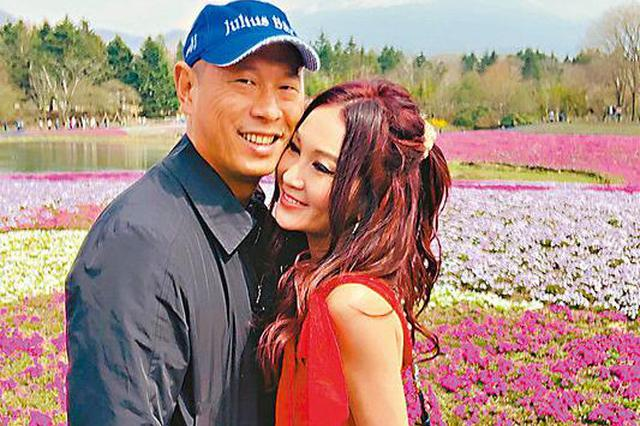 温碧霞称老公是红颜知已 两人甜蜜游富士山赏樱花