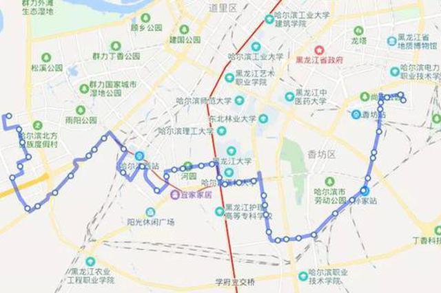 哈尔滨57路、81路、201路公交新车上线运行