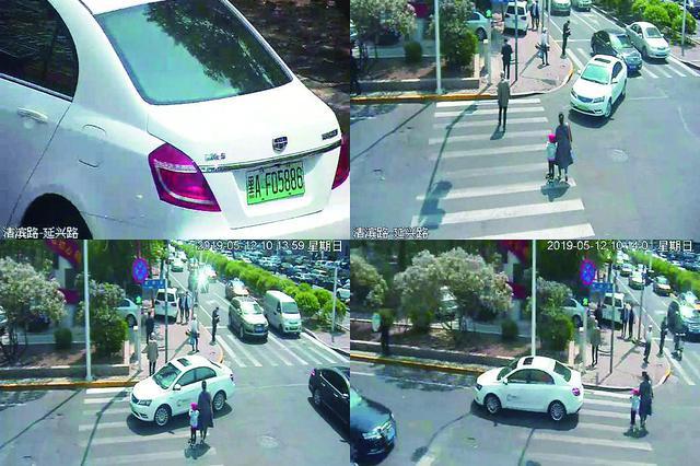 哈尔滨市半个月查处机动车不礼让行人8260件