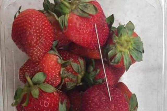 编造草莓藏针谎言 新西兰女子被判5个月居家监禁
