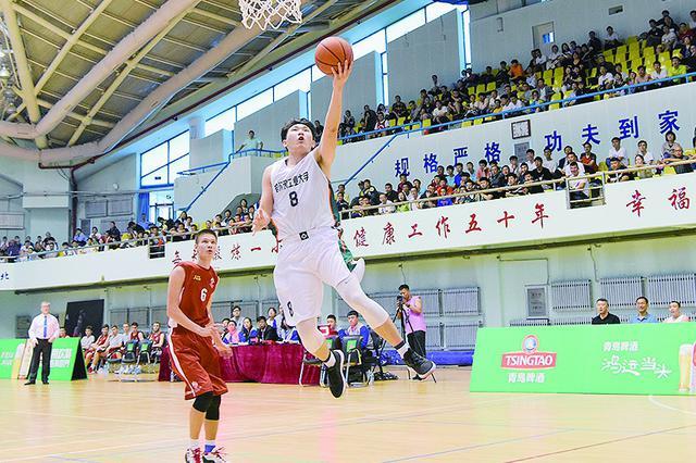 中俄青年篮球友谊赛举行 哈工大战胜圣彼得堡国立大学