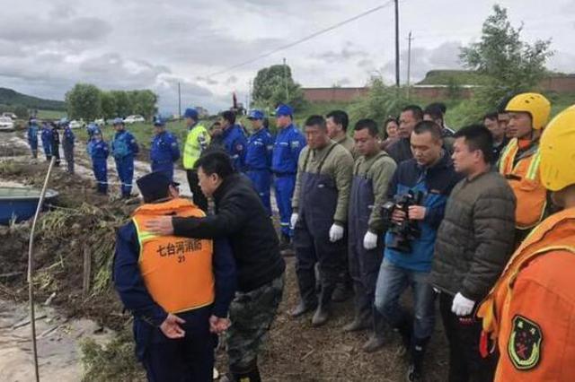 痛心 七台河防汛失踪人员27岁宋金泽确认遇难