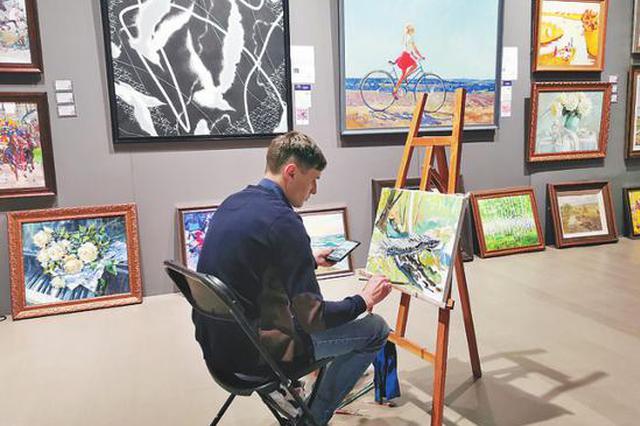 第七届中国·哈尔滨国际油画展启幕