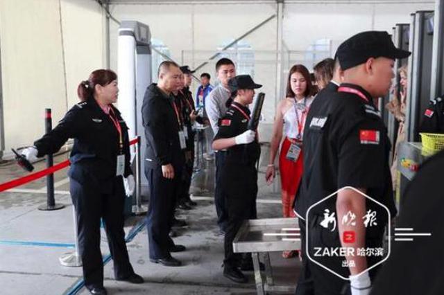 科技助力+智慧警务 第六届中俄博览会首日安保是这样的