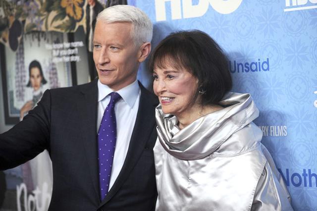 CNN主播安德森库柏母亲逝世 享年95生前是女强人