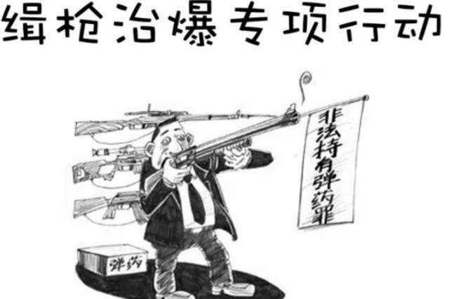 维护社会治安秩序 黑龙江省严打枪爆违法犯罪