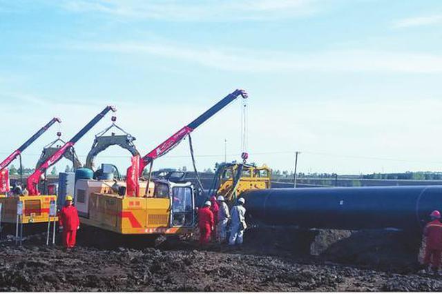 中俄东线天然气管道工程启用多项新技术