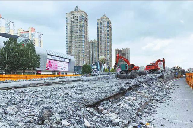 哈尔滨二环西线改造一期工程开工 预计11月末完工通车