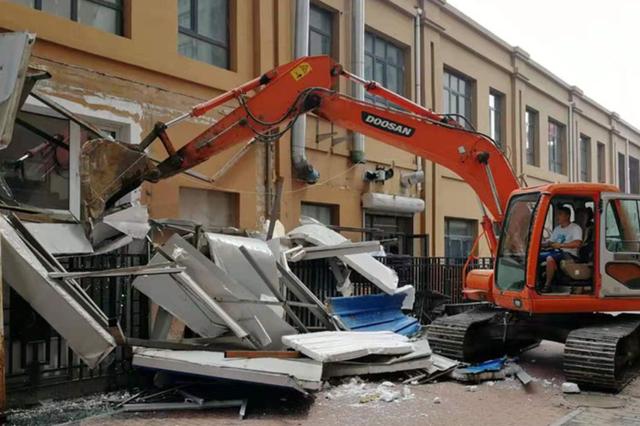 再拆128处 哈尔滨陶瓷小区6个区域237处违建全拆完
