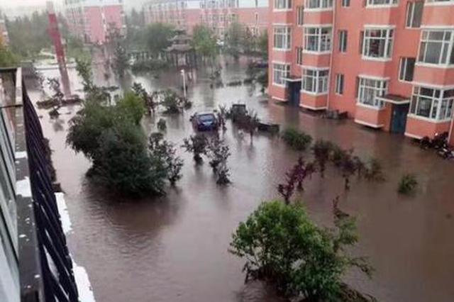 黑龙江荣军农场50年一遇特大暴雨 8小时紧急转移2000人