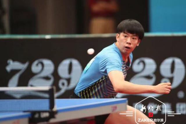 黑龙江队获二青会乒乓球体校组银牌