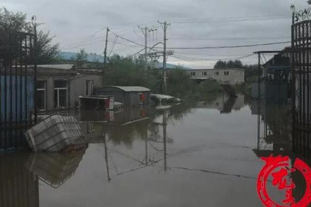哈尔滨长江路周边6个变压器被水淹没 发现后紧急隔离