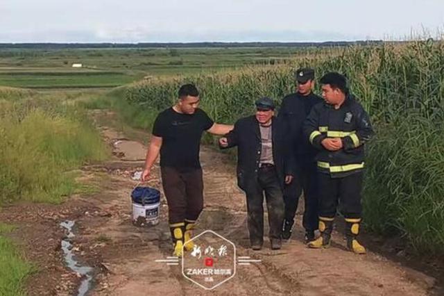 进山采蘑菇迷路苞米地 民警拉警报救出八旬老人