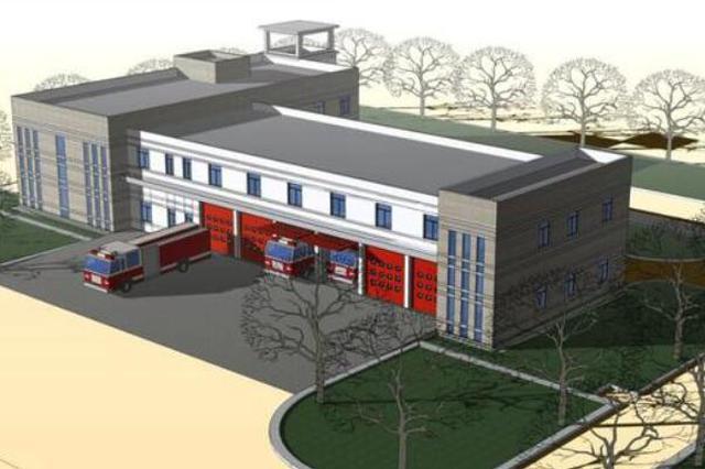 香坊区松海路北侧将建一消防站 预计明年10月1日竣工