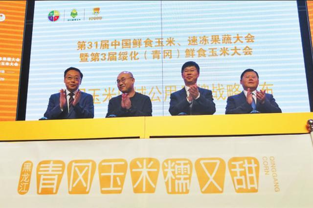 第3届绥化(青冈)鲜食玉米大会签约2.6亿元