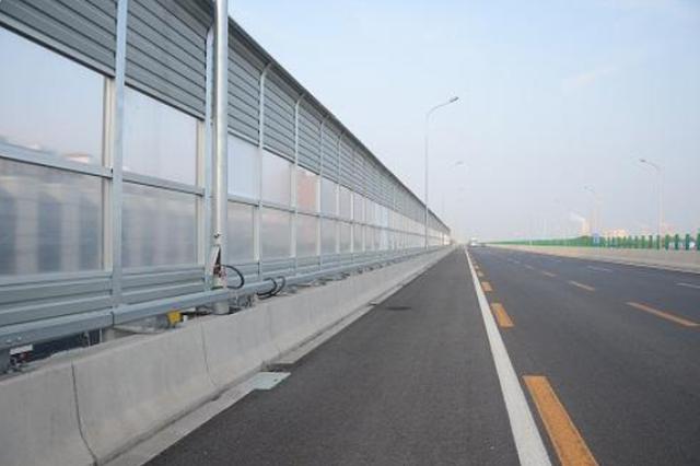 治理桥梁噪声 松浦大桥、文昌桥等将安装7000余米隔音屏