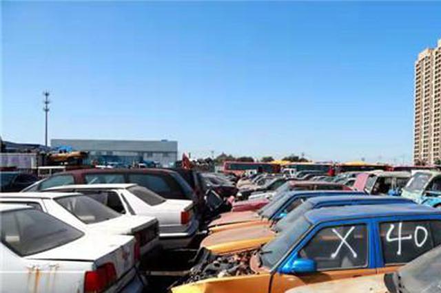 哈尔滨1471台无路权车辆被销毁 可打84299110举报