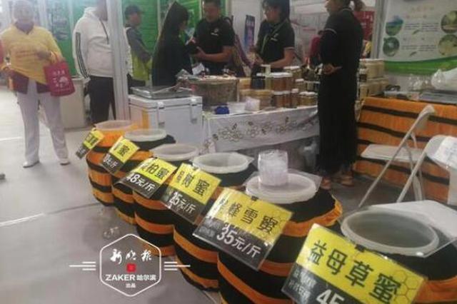 """绿博会首日 哈尔滨展团用""""新""""惊艳全场"""
