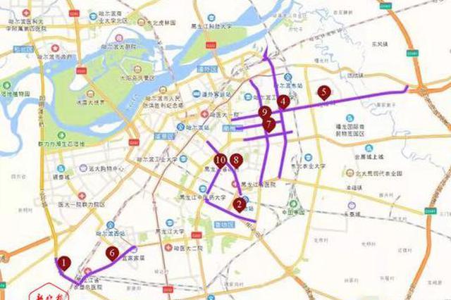 哈尔滨交通咋样?下周上班出行注意这些拥堵路段