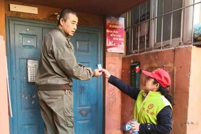 """千个爱心灯""""进驻""""哈尔滨太古街道保障华庭小区"""