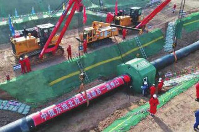 中俄东线天然气管道北段全线贯通 12月1日正式投用
