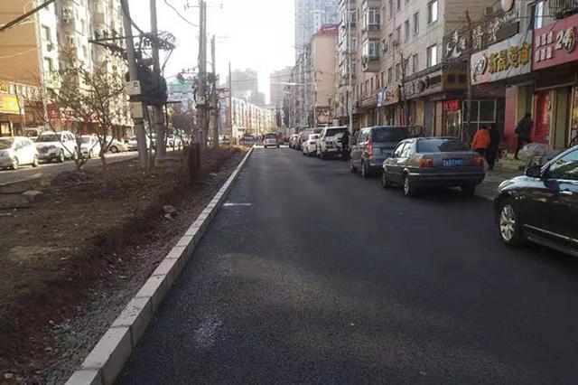 封闭施工仨月的升永街恢复通车 安埠商圈堵车有望缓解