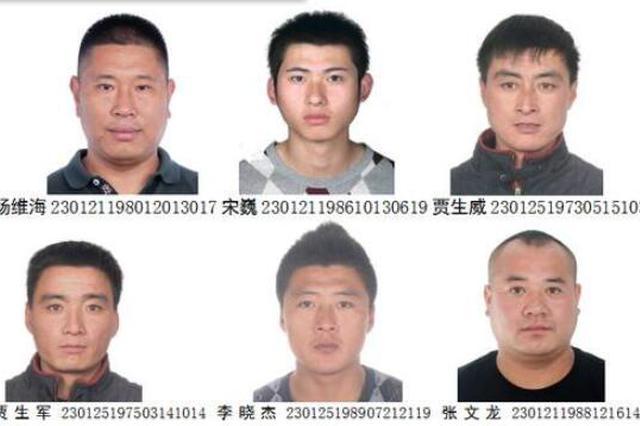 """专在工地闹事 哈市警方征集""""杨三""""恶势力集团犯罪线"""