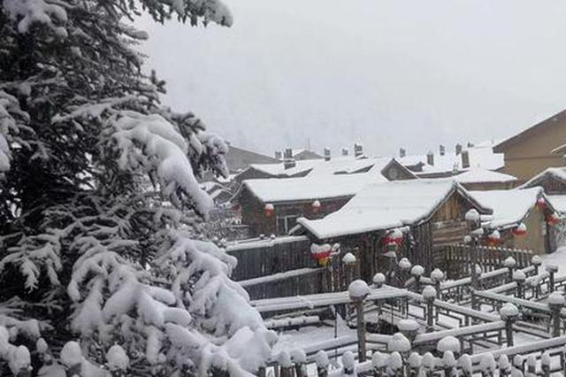 雾凇雪挂已成 雪乡迎今冬来最大一次降雪 随时开园迎客