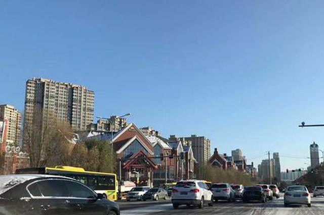 群力第七大道(上江街至丽江路)拓宽完成 双向六车道
