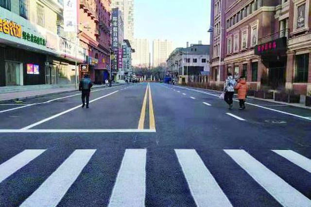 中央大街区域25条街路全竣工 两条单向3车道
