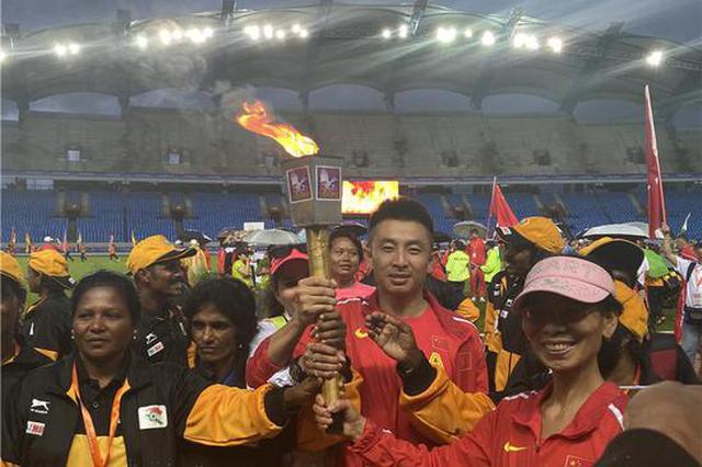 哈尔滨老将闯进亚洲老将田径锦标赛百米决赛