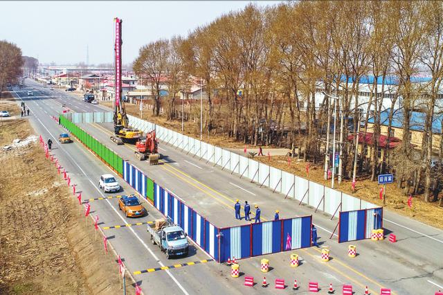 哈机场第二通道迎宾路高架 将建主桥及3对平行匝桥
