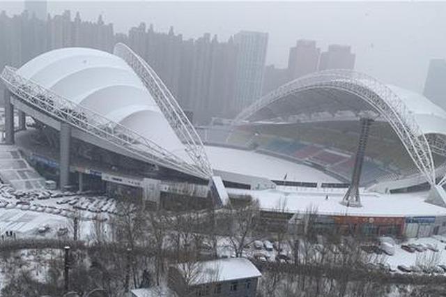 雪一直下 哈尔滨机场已有84架次航班延误 无航班取消